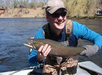 Fly fishing michigan steelhead