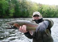 Steelhead Fishing woman